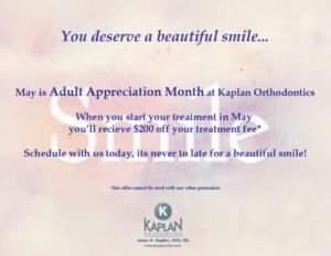 adult appreciation month