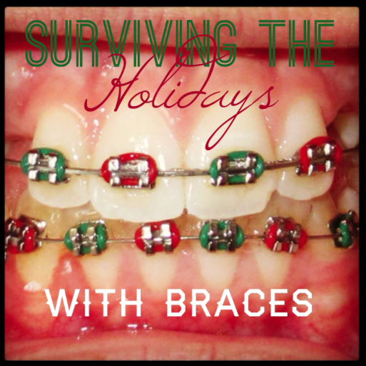 surviving holidays with braces